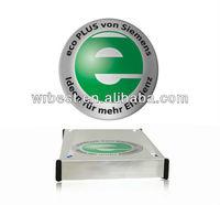 Levitating logo!! Magnetic floating globe