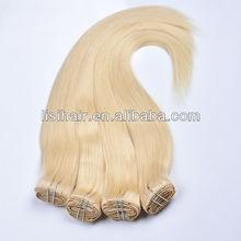 Wholesale 5A Gorgeous Hair Weave Natural Blonde princess hair company