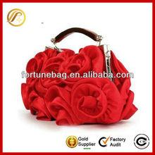 Charmig rose flower evening bag