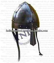 medieval steel helmet , medieval helmet crafts , antique medieval helmets