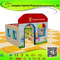 En el interior suave de supermercado de plástico temáticas para las casas de los niños 1411-28b