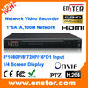 8 Channel 1920*1080P NVR,Support HDMI output H.264 compression Network Video Recorder,Millions hd standalone NVR