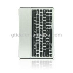 Gtide KB651 Aluminum Bluetooth Keyboard Silver/Black keyboard for laptop
