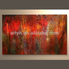 Newest Handmade Artist Abstract Canvas Art In Discount Price