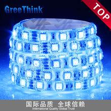 CE or RoSH DC12V 60leds IP65 Blue Waterproof Flexible LED Strip Light SMD5050 led strip