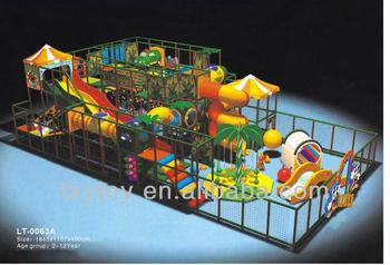 HOT SELL! children indoor soft playground LT-0063A