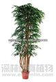 10- tronco 7' artificial de árvores de eucalipto com vaso de plástico