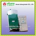 ferro de alta eficiência industrial queimador elétrico mini gerador de vapor da caldeira de aquecimento