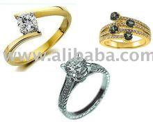 Ring, Engagement Ring & Wedding Rings