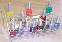 layered enamel display stand/acrylic enamel pedestal