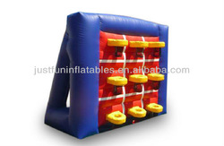 2014 inflatable basketball tic tac toe sports games
