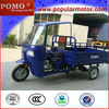 New Cheap 250cc Gasoline Motorized Cargo 3 Wheel Tricycle Adult