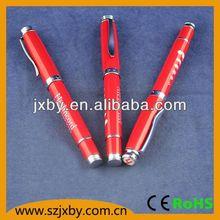 matal material roller pen triangle metal ball pen liquid ink ball pen