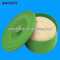 Vintage ceramic green tortilla Food Warmer Container