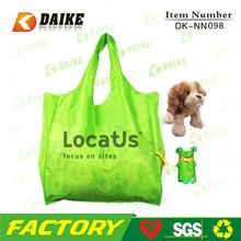 Easy Carry Personalized Nylon Durable promotion foldable shopper bag DK-NN098