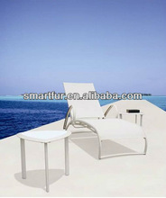 cheap outdoor beach lounger and coffee table