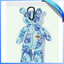 Different Shape Shopping Bag,Folding Teddy Bear Shape Shopping bag,Cheap Shopping Bag