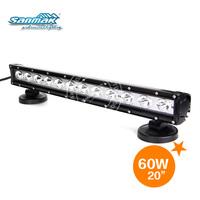 High Power offroad lamp 5w cree car led light bar flood beam 20 inch