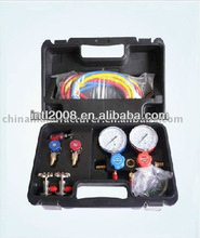 manifold gauge R134a 134a R12 for auto air conditioning manifold gauge/Refrigerant Manifold Gauge set/refrigerant tool