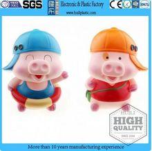 anime character figure/plastic cartoon animal Mcdull/plastic promotional gift toys