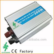 Hot&Decent!! dc12v/24v to ac220v/110v Modified sine wave inverter 300W frequency inverter