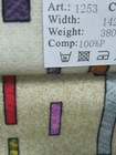 100% polyester printed upholstery fabric NN1253