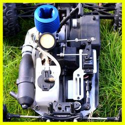 Popular 1:10 RC gas car,4WD nitro two speed truck,Hotest Nitro car