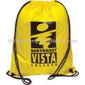 logotipo personalizado impresso nylon colorido draw saco de corda