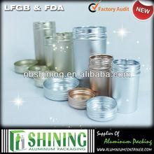 Custom airtight empty coffee aluminum cans