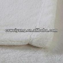100% polyester solid airplane polar fleece fabric