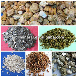 thermal insulation material vermiculite