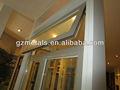 ventana de aluminio y diseño de la puerta
