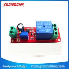 12V power Relay module delay switch NE555 module
