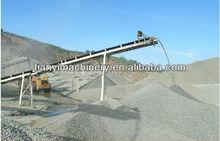 Easy maintenance belt transporter system for bulk materials handling