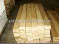 Aserrada paulownia madera madera, pino, madera de construcción de madera de abeto de China