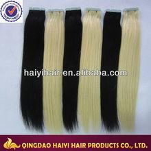 Factory Price!!!Best Selling Burmese 18 Inch Skin Tape Hair Extension