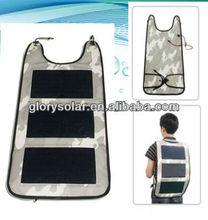 19.5W monocrystalline foldable solar panel/2pcs PET solar panels