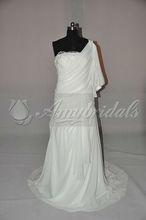 One Sleeve Designer Thailand Wedding Dresses New Models