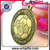 Custom die cast brass metal medal
