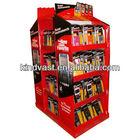 POP custom cardboard paper floor stand display for pen advertising