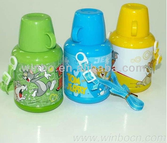 500mlขวดน้ำโลหะที่นิยมกลางตะวันออก/โลหะขวดดื่ม/ขวดโลหะสำหรับเด็ก