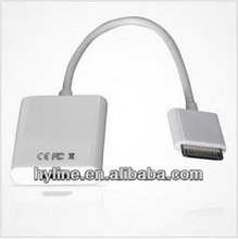 Hot! High Quality Ipad To Hdmi Adapter, iPad To HDMI Cable Adapter For Apple iPad