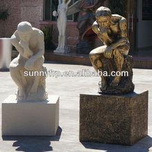 Large bronze figure