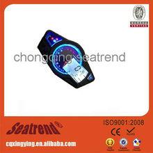 High resolution ratio LCD digital universal motorcycle hour meter tachometer