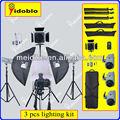 equipamento fotográfico mini photo studio kit da china