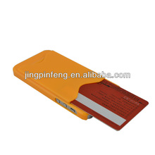 for iphone5 card case, credit card slot on back side