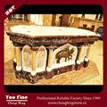 Clássico mármore esculpido de mesa Altar