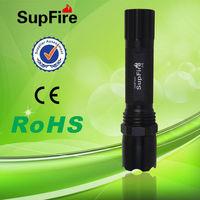 High power hunting torch light flat led flashlight