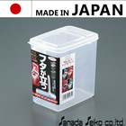 "Premium plastic storage container ""Lock Pack"" plastic food container (slim, L size) with multiple functions made in Japan"