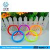 colorful wrist bands silicone bracelet europe design